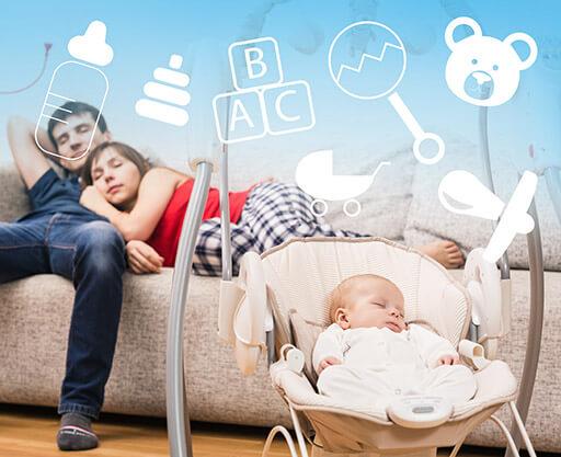 KURS ONLINE Jak przetrwać z niemowlakiem?